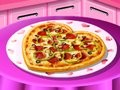 Saras Cooking - Valentine Pizza