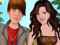 Bieber and Selena Dress Up