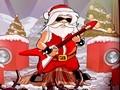 Santa Rockstar Metal Xmas