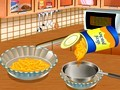 Saras Cooking - Peach Cobbler